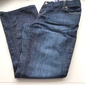 Gap maternity jeans back panel size 10 EUC